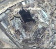 Google Earth - Burj Dubai Construction Site