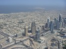 135th floor view on Sheikh Zayed Road