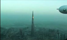 Burj Dubai from the sky