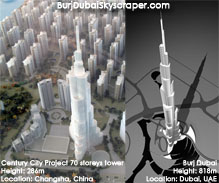China's Burj Duba replica