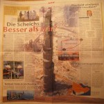 Burj Dubai article in German